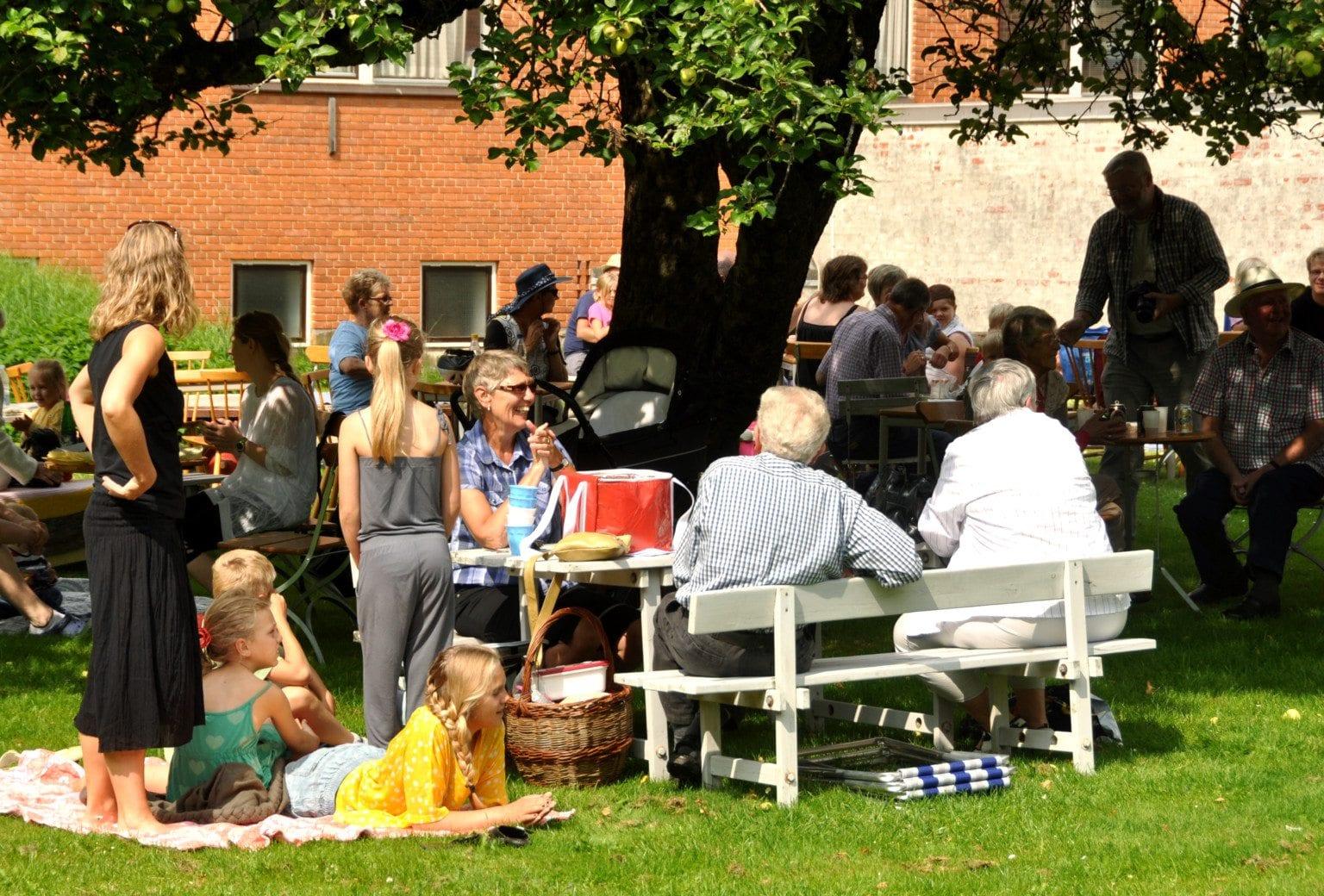 Landsbyfesten på Frilandsmuseet Herning