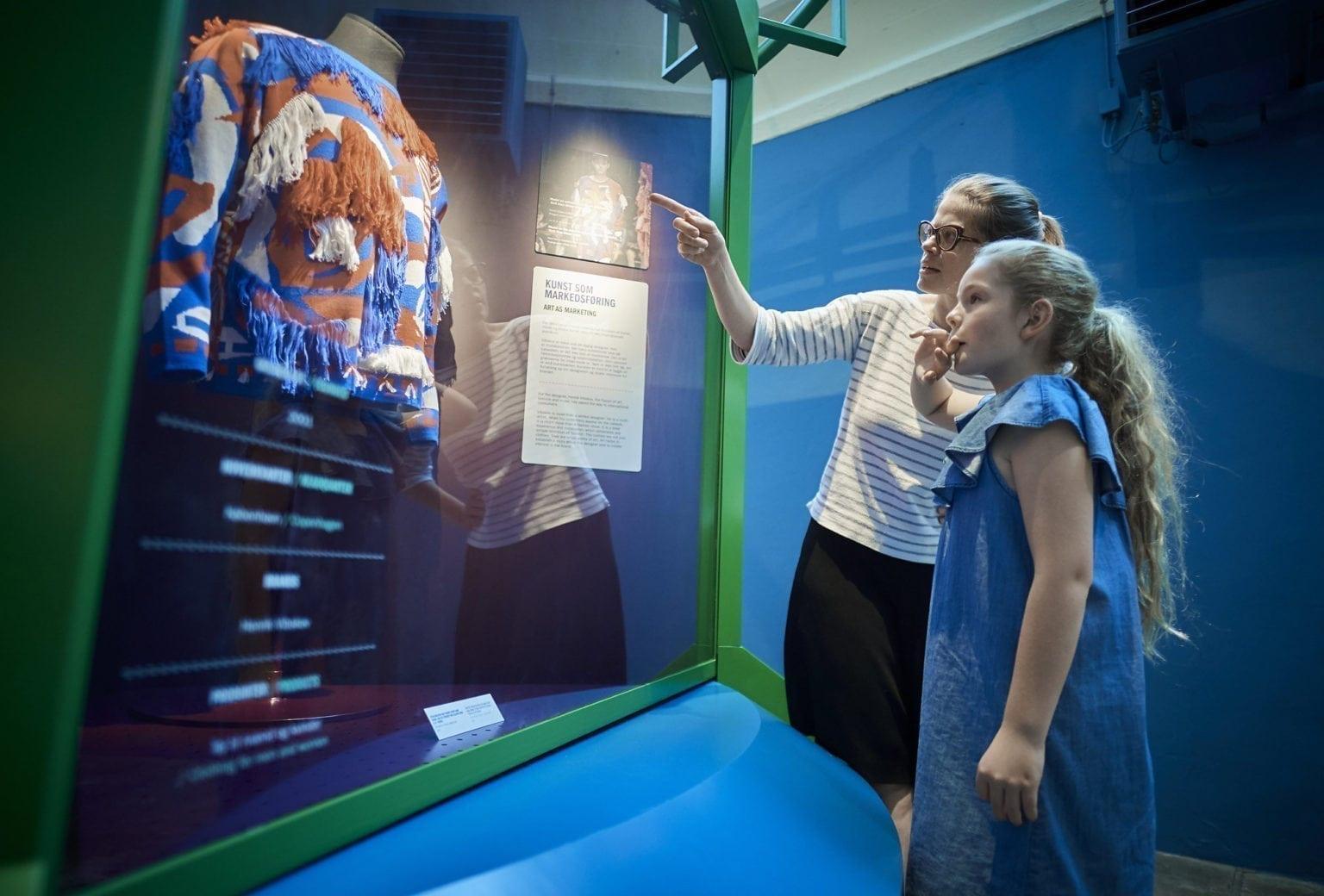 Udstillingen made in midtjylland på Tekstilmuseet i Herning