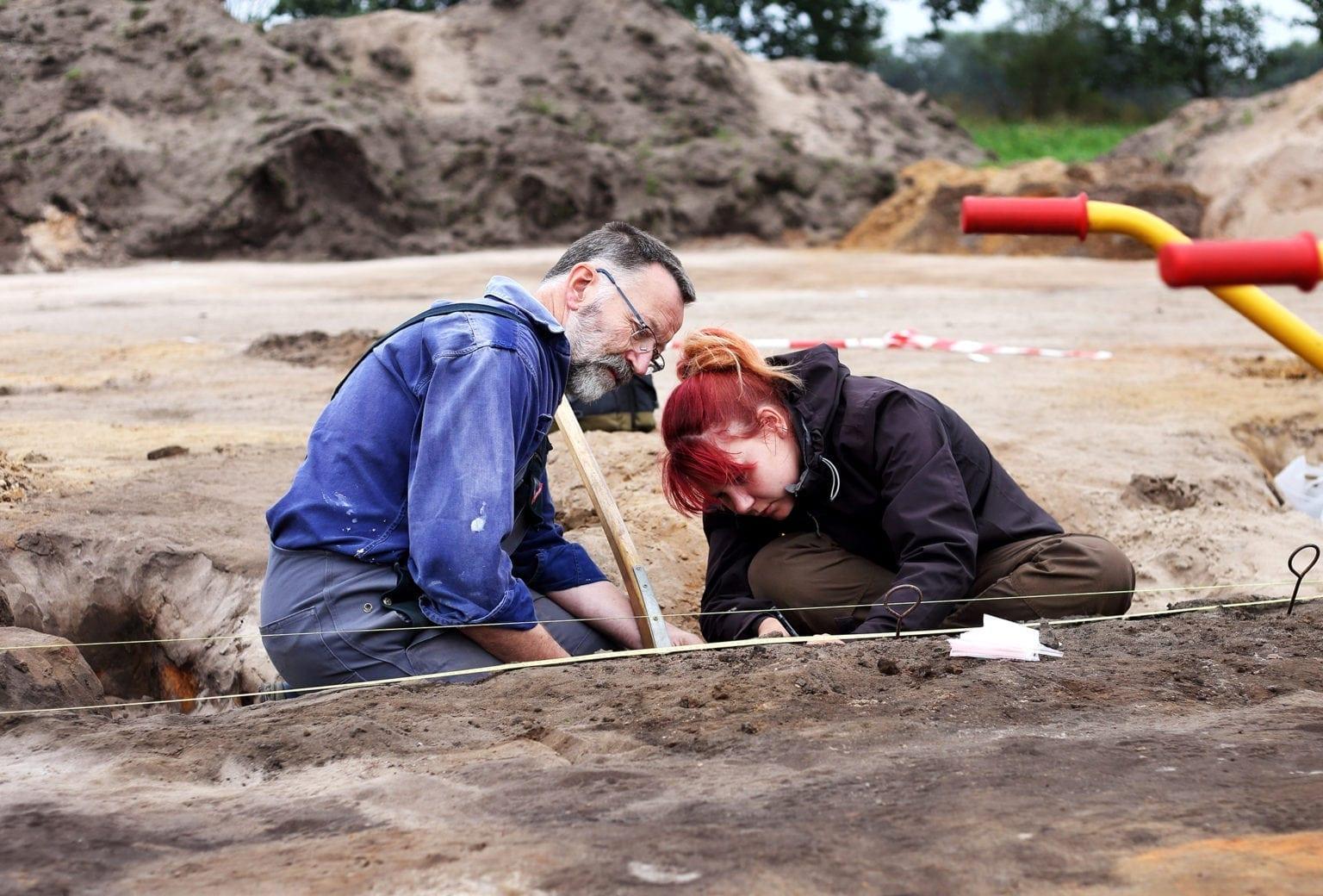 Udannelsesudgravning ved Ørregård Museum Midtjylland