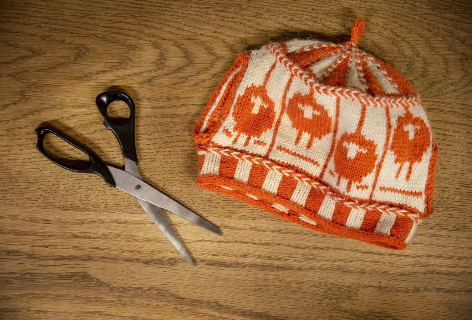 Klip i dit strikketøj Workshop på Tekstilmuseet Herning