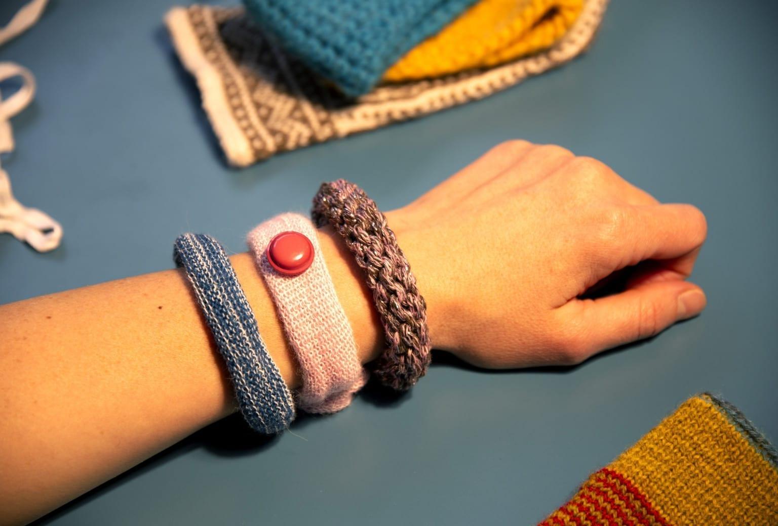 Vinterworkshop med strik for børn på Tekstilmuseet i Herning