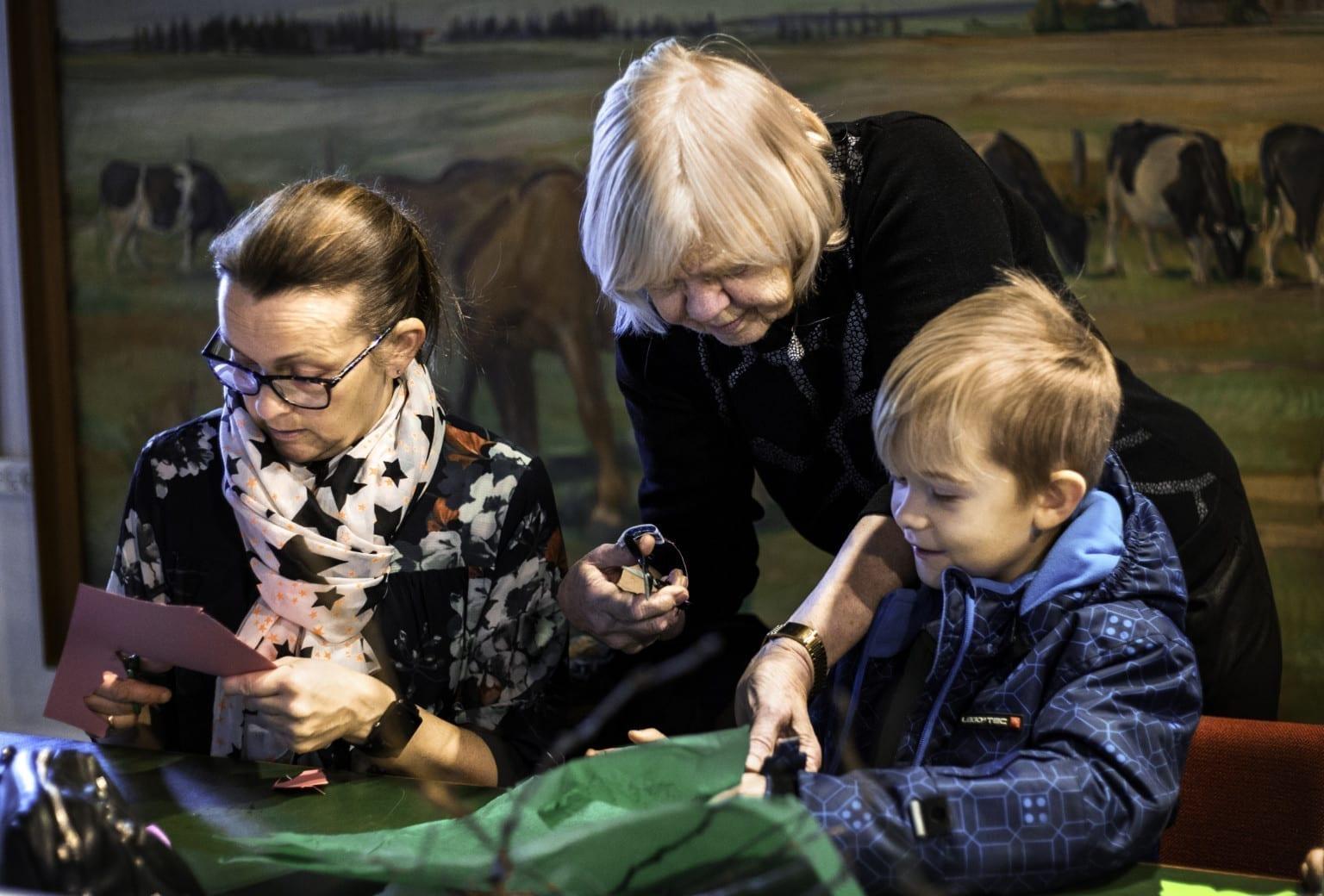 Vinterferie på Frilandsmuseet Herning med fastelavnstema