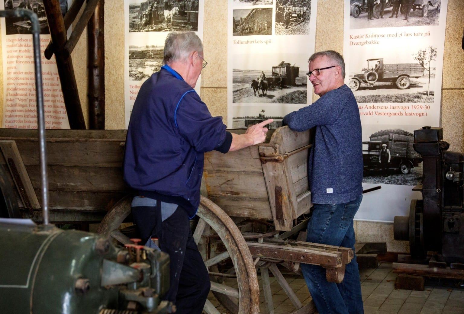 Tørveeventyret - Udstillingsåbning på Klosterlund Museum