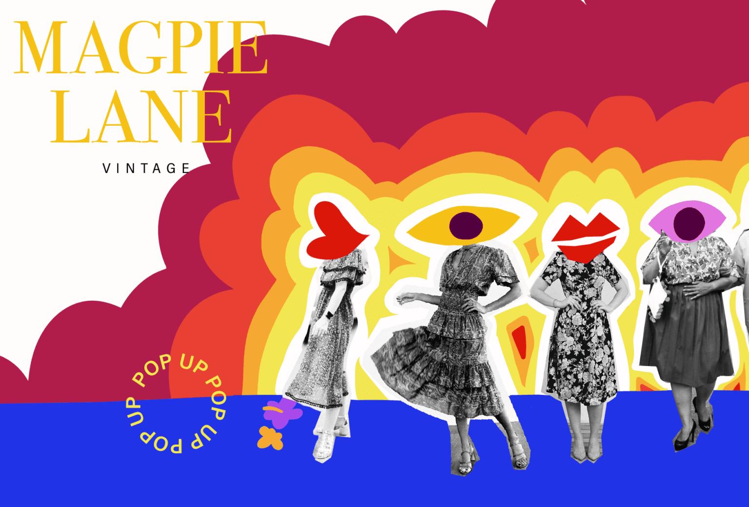 Historisk modeshow og popup butik med Magpie Lane på Tekstilmuseet i Herning