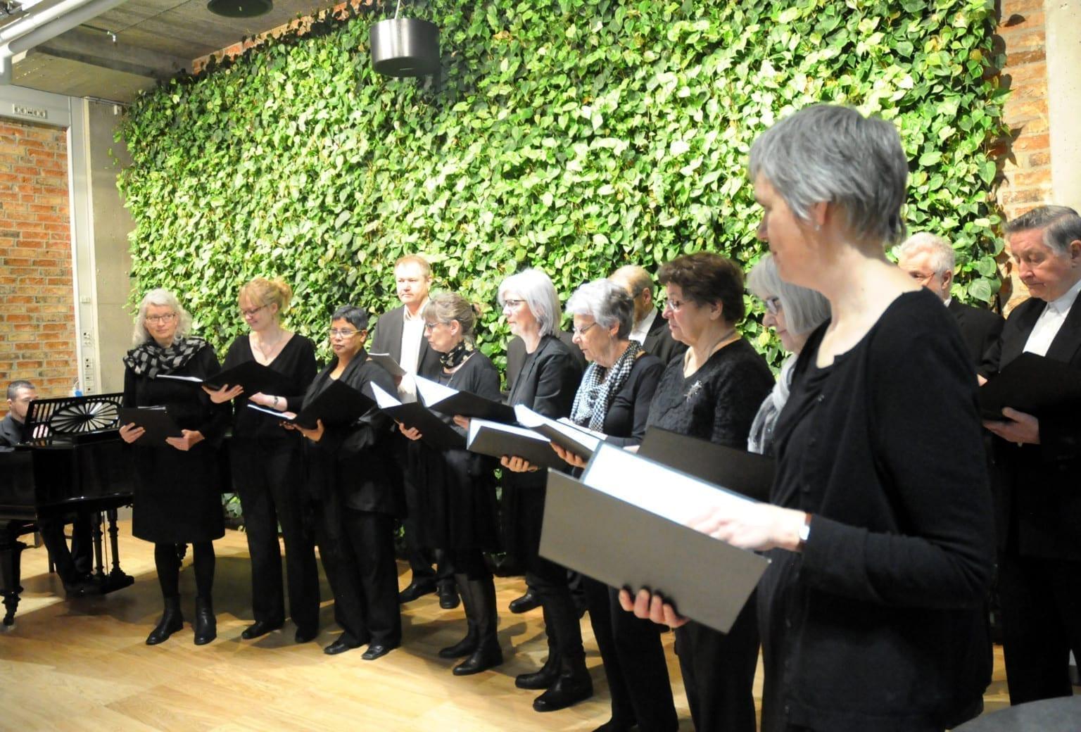Herning Korforening giver sommerkoncert på Herningsholm Museum