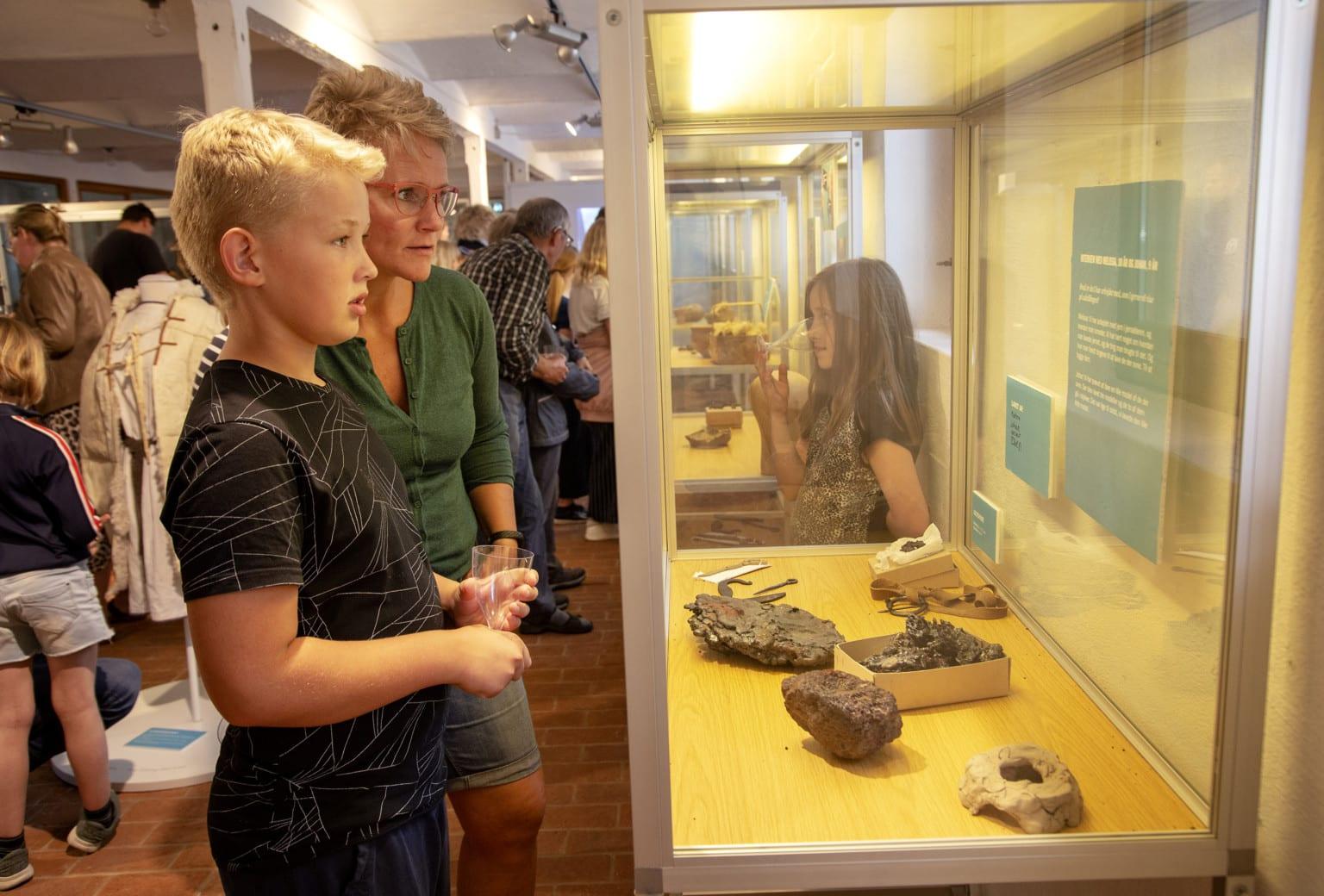 Museets Helte på Klosterlund Museum