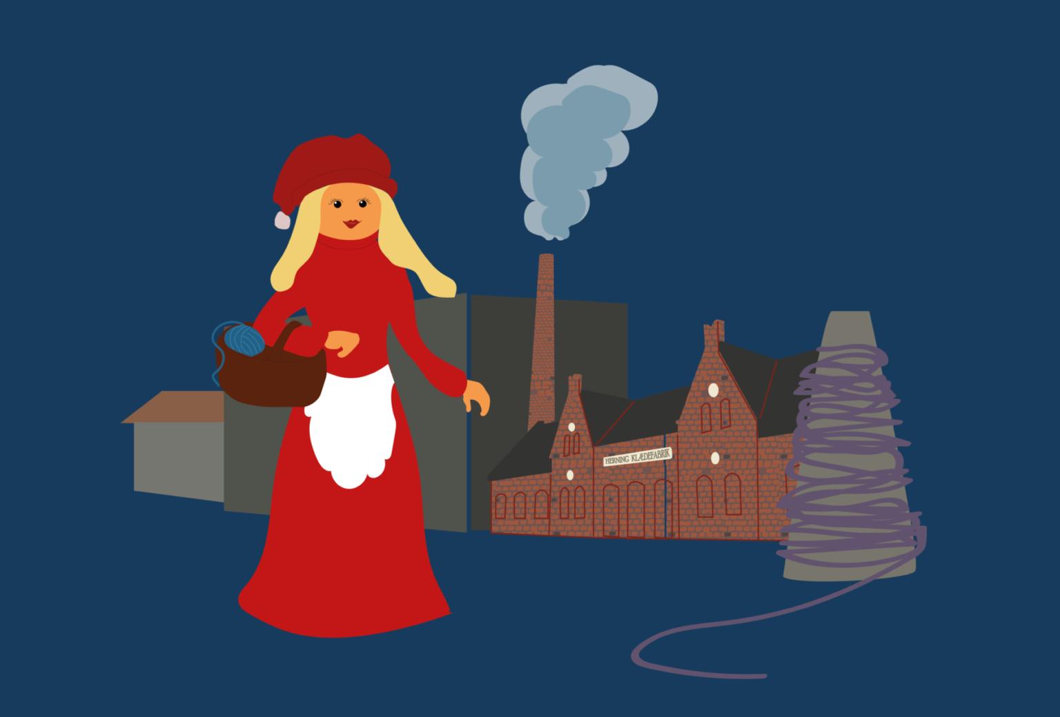 Tekstiller nisser i det store nisseroderi på Museum Midtjylland